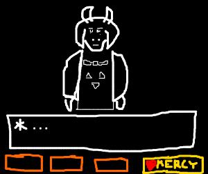 Undertale Mercy Button Drawception