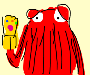 Don't hug me I'm scared red guy infinity guan