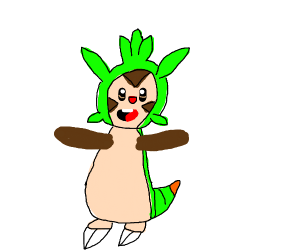 Happy chespin