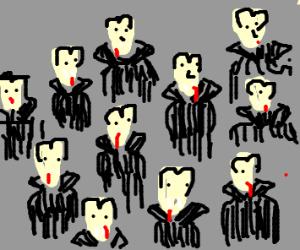 A ROOM FULL OF VAMPIRES!