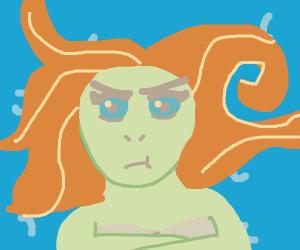 Disgruntled Mermaid