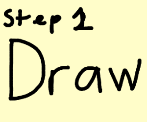 Step 1: create a drawception game