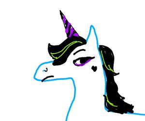 emo unicorn