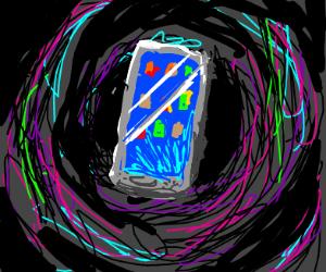 Cellphone black hole