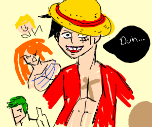 retarded one piece