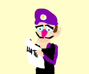 stop complaining about Waluigi