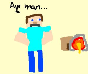 Steve gets griefed
