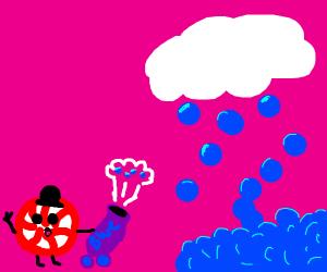 Candy firing Cloudberry