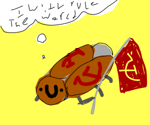 A fake communist cockroach with big dreams
