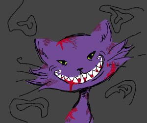 bloody cheshire cat