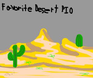 Favorite Desert PIO