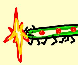 Explosive Centipede