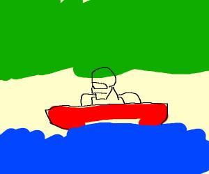 Robocop Fishing