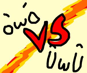 owo vs UwU