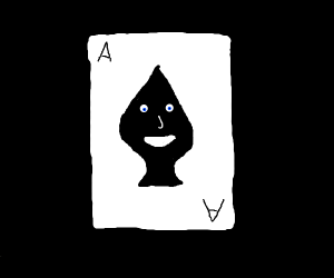 Sentient playing card