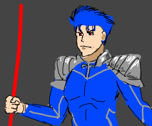 Cancer (it's actually lancer- draw lancer)