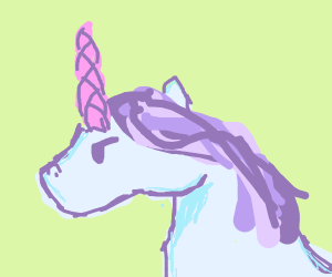 Bored unicorn