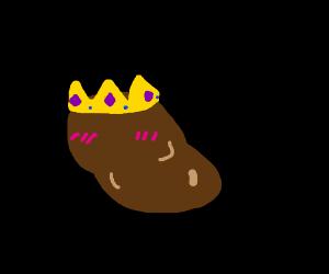 queen potato blushing