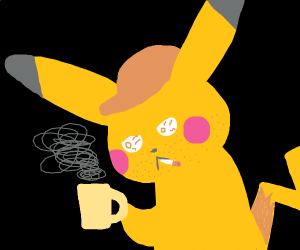 Pikachu has been through some things