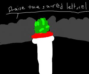 the sacred lettuce