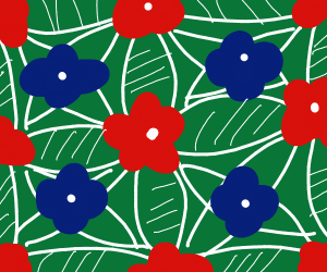 a Flower background