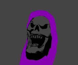 A skeleton celebrating the power of calcium !