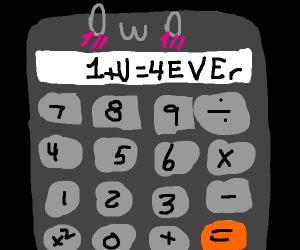 Owo calculator: 1+U=4EVEr
