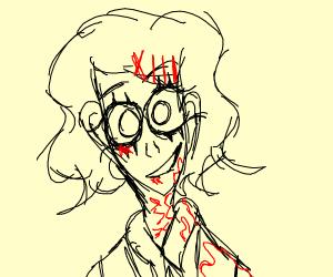 Crazy bloody boy