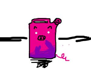 Pig gasoline