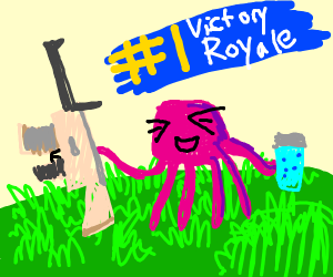 jelly fish gets #1 Bictory Boyale