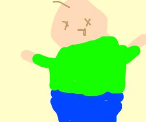 A fat dead man