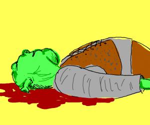 Dead shrek