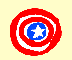 Capitan's America shield
