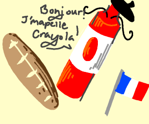 French Crayon