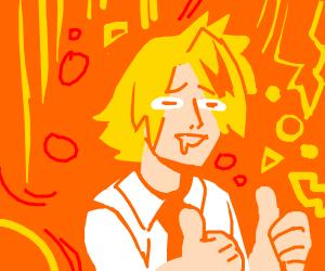 Ichigo Kurosaki Thumbs Up