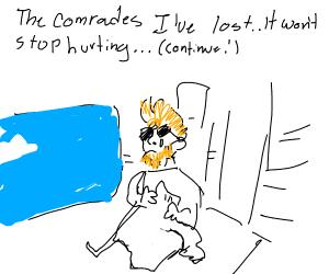 The body I've lost... the comrades... (con't)