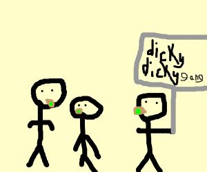 dicky dicky lit gang