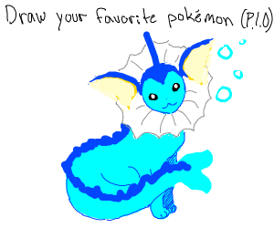 Draw your favorite pokemon p.i.o