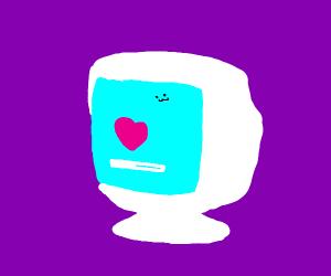computer receiving love