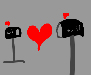 Mailboxes in love