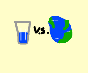 Water vs Earth