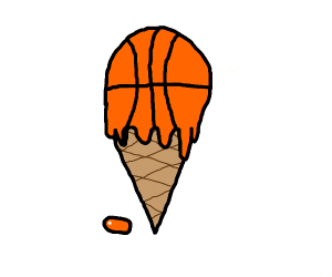 a icecream basketball