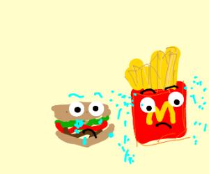 Sad McDonalds Meal