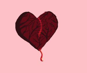 That heart's looking pretty pruny...
