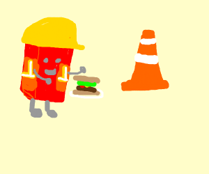 construction-worker brick lunch time!