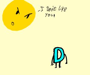 the sun doesn't like drawception