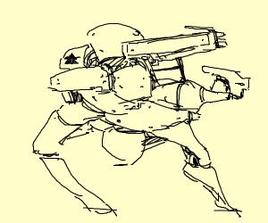 robot bois