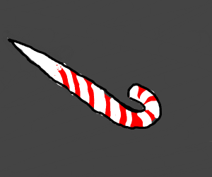 Candy Cane as a murder weapon