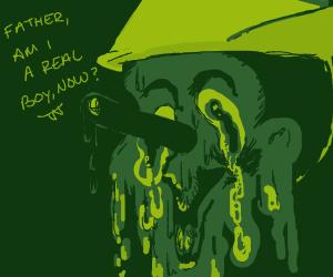 pinnochio melting