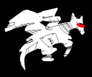 A Cyborg Dragon